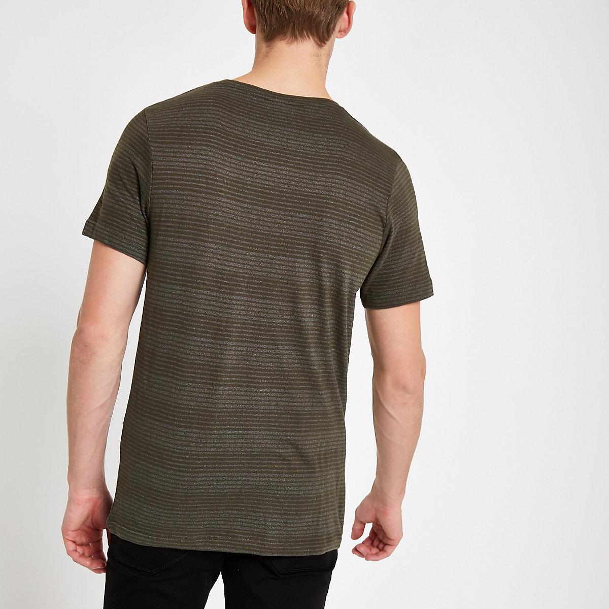 verdes Jones Camiseta de rayas con Originals Jack fxwzxpEq7