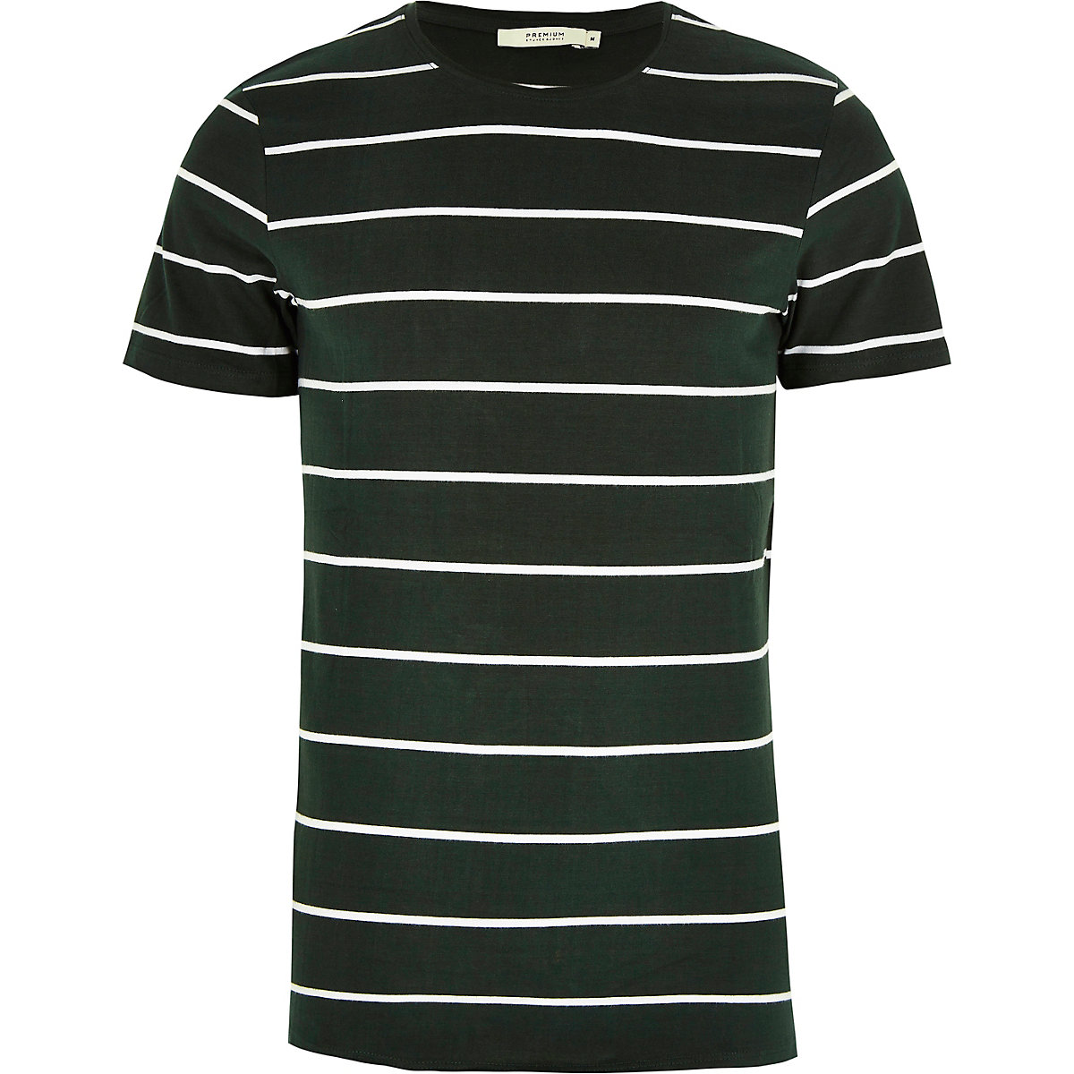 Jack & Jones green stripe T-shirt