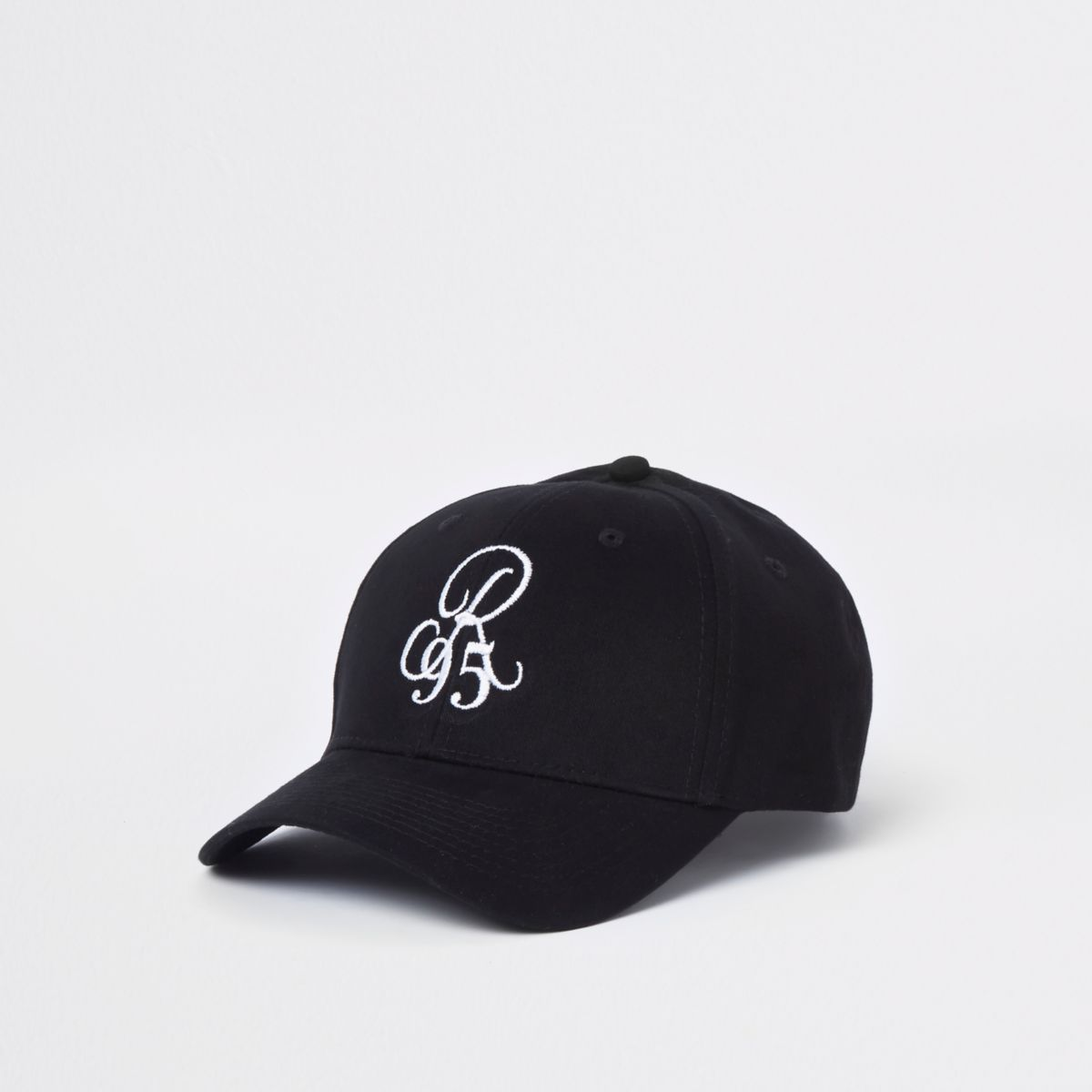 Black 'R95' embroidered baseball cap