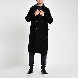 RI 30 – Manteau croisé noir