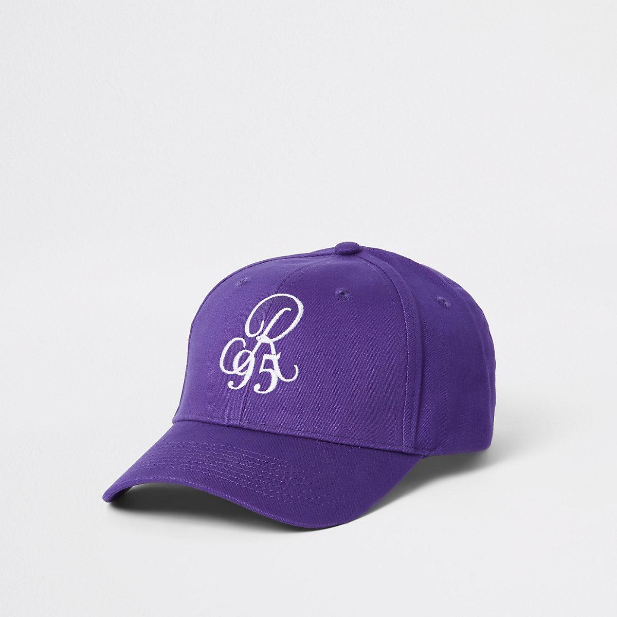 Purple 'R95' baseball cap