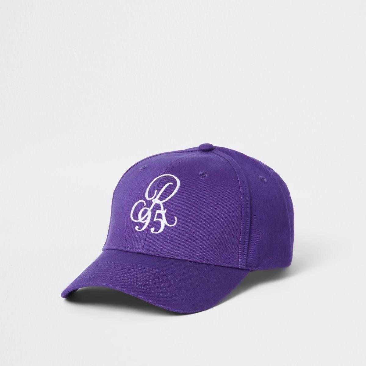 Purple 'R90' baseball cap