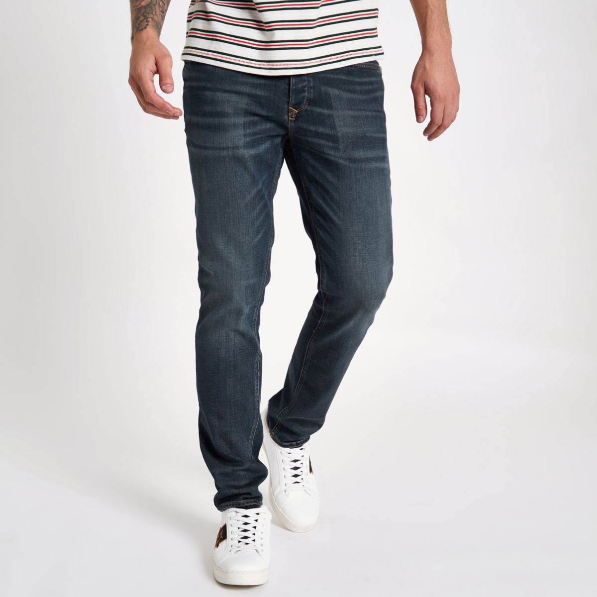 Dylan Dark jeans fit slim blue wxqPwOSF