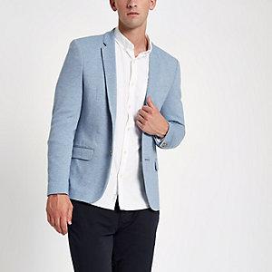 Blazer ajusté bleu clair