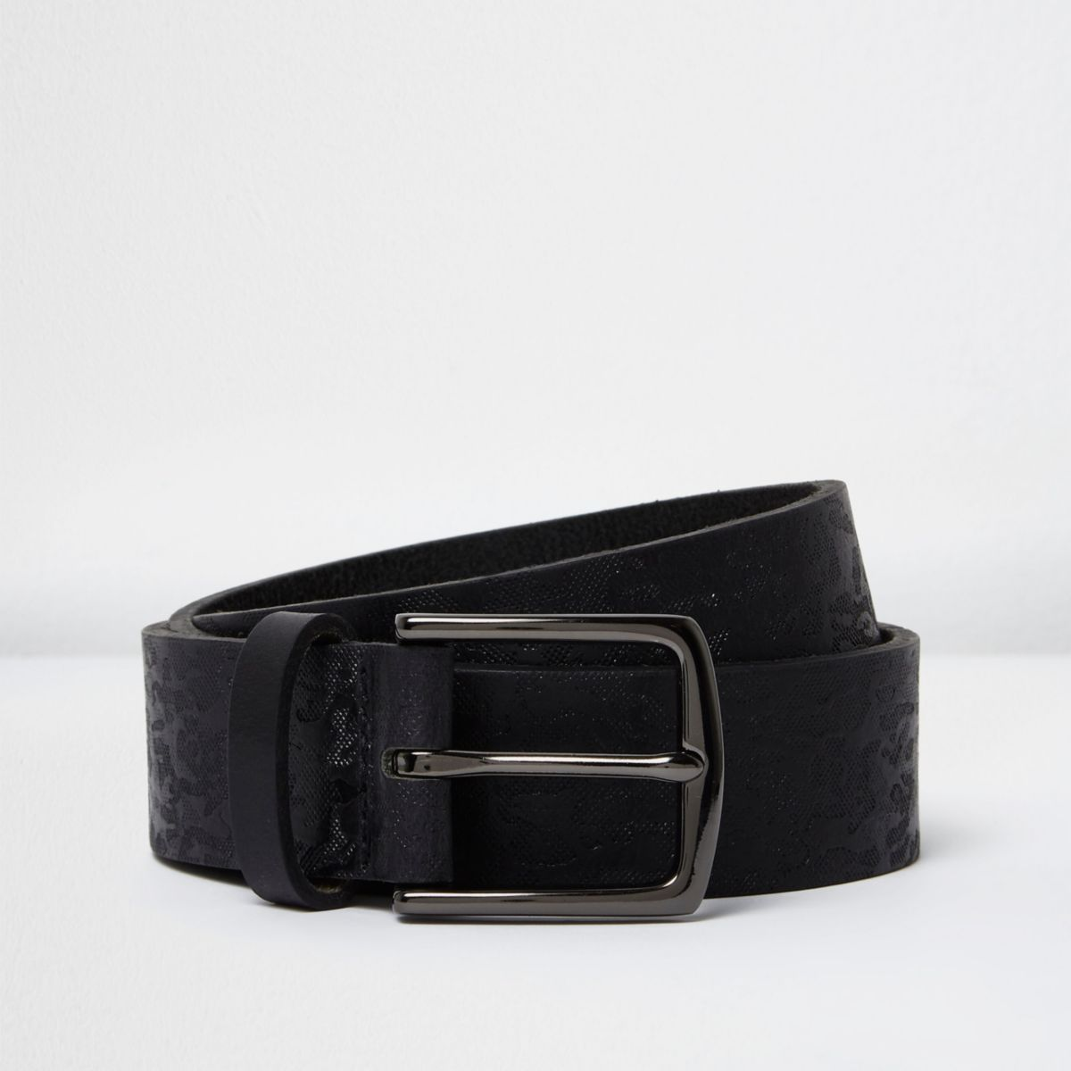 Black camo belt