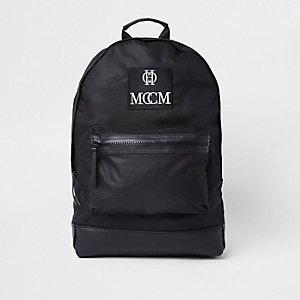 Black 'MCM' backpack