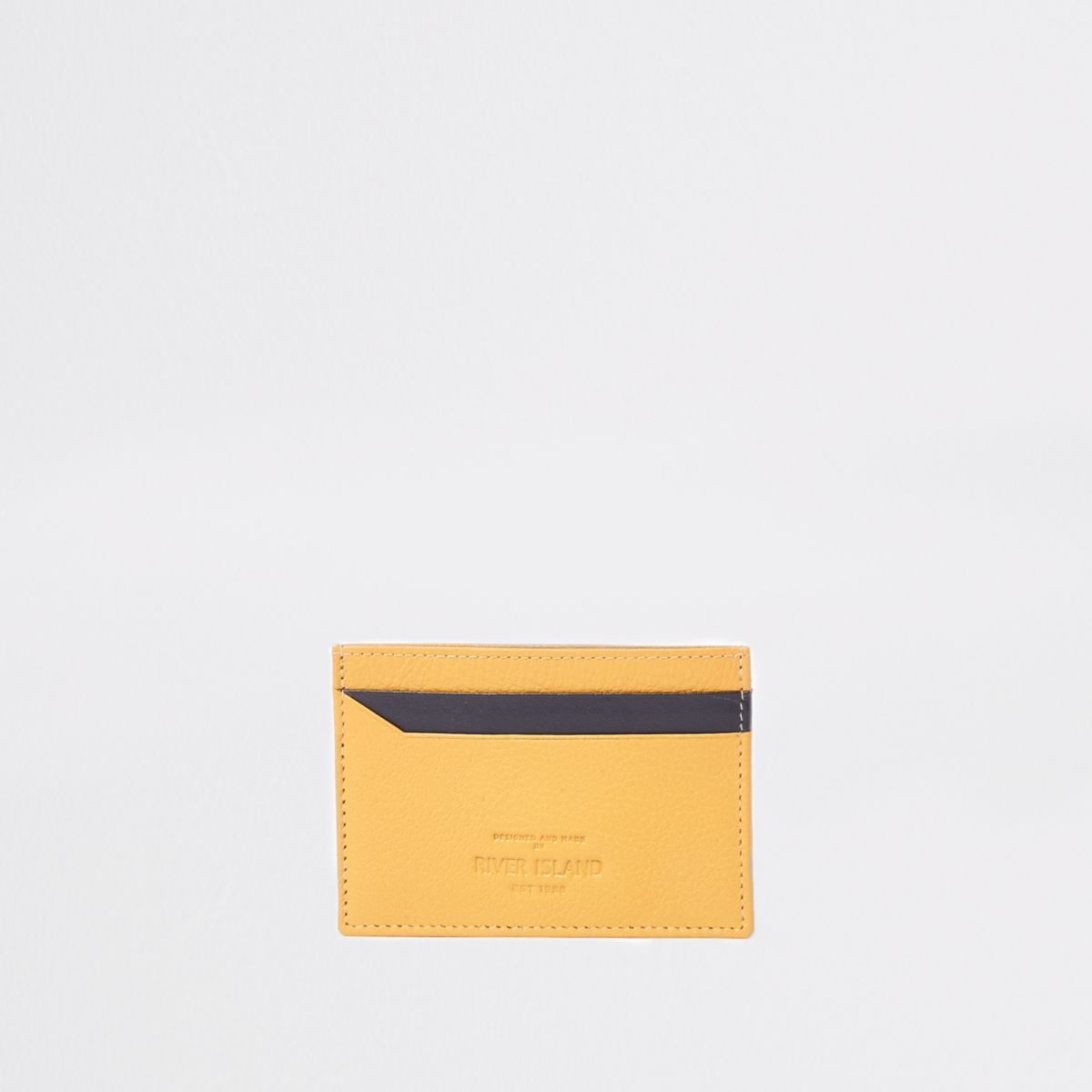 Yellow and black card holder