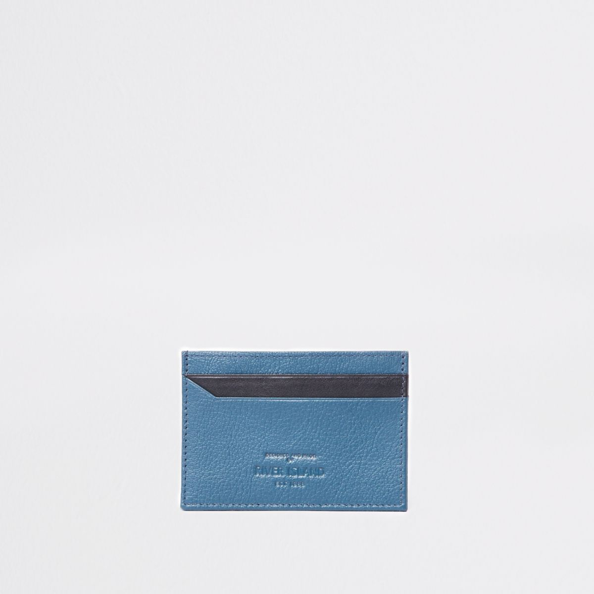 Navy and black card holder