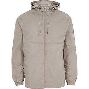 Veste à capuche Only & Sons grise