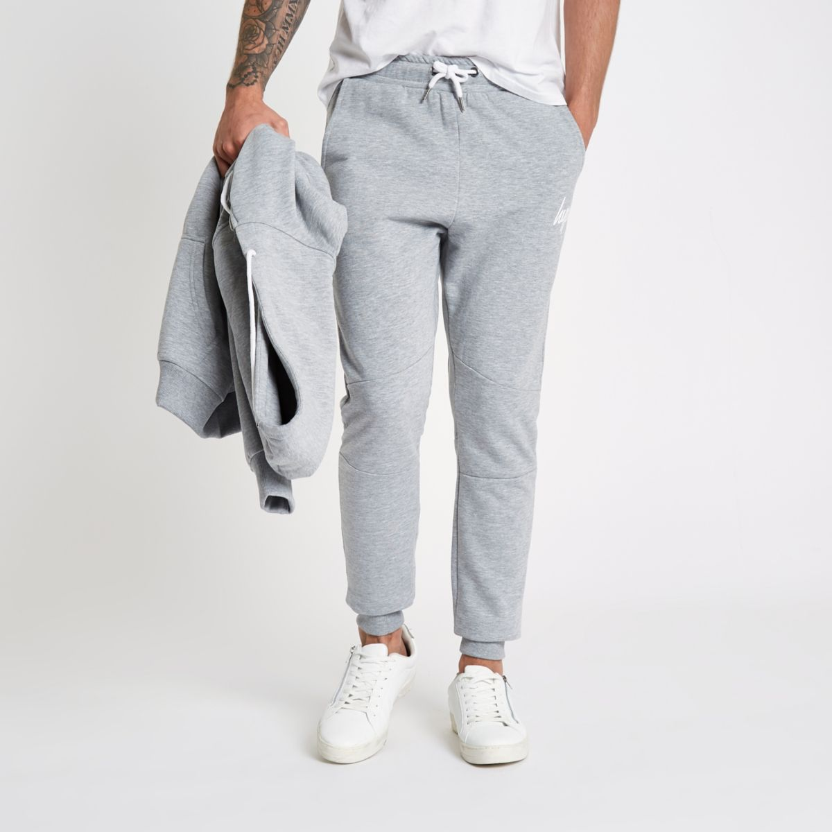 Hype grey joggers