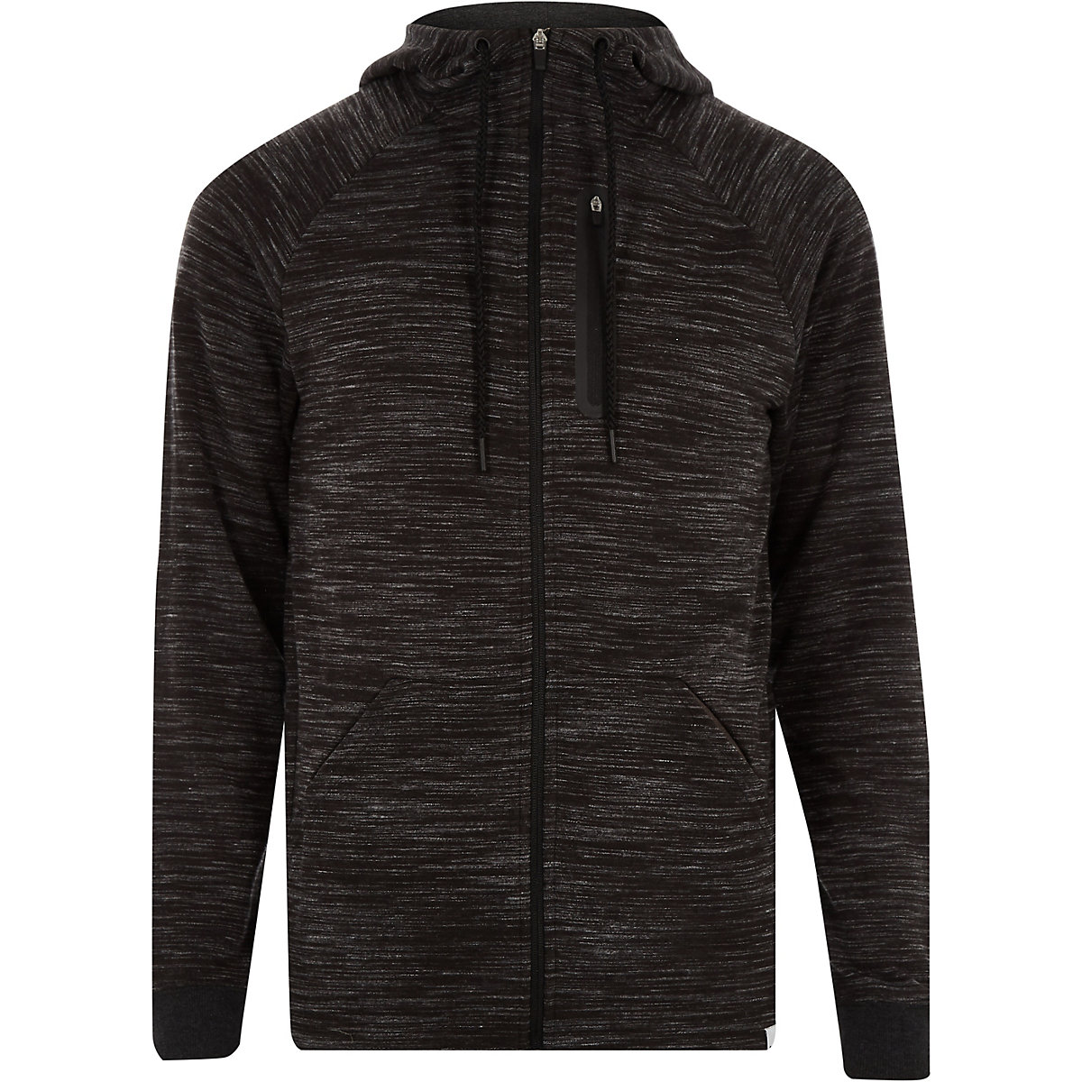Only & Sons grey zip up hoodie