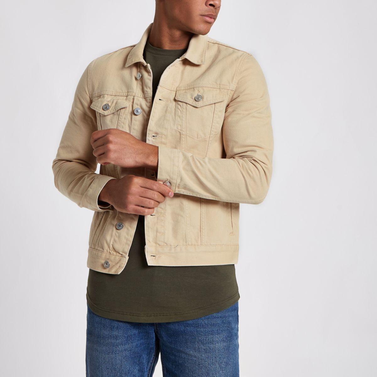 Ecru denim jacket