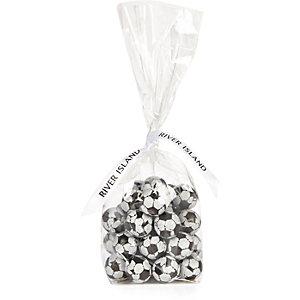 Schokoladen-Fußbälle in Geschenkverpackung