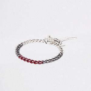 Silbernes Armband mit Haifischzähnen