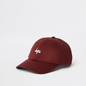 Hype burgundy baseball cap