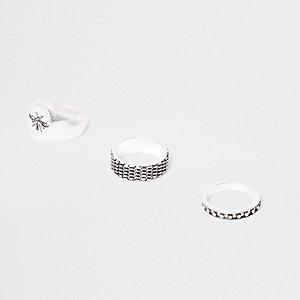 Silberne Ringe, Set