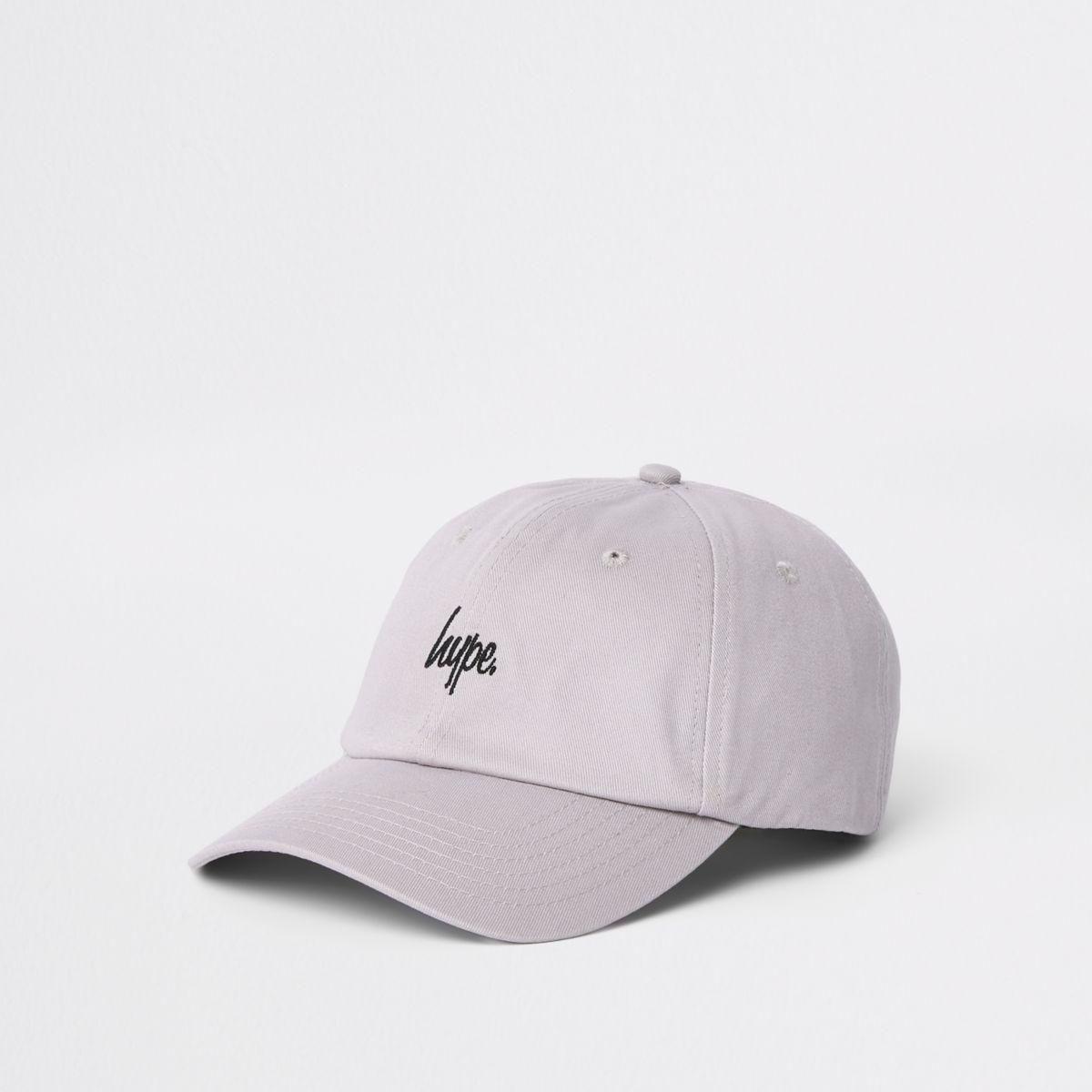 Hype grey baseball cap