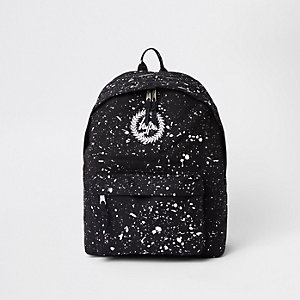 Hype black speckled backpack