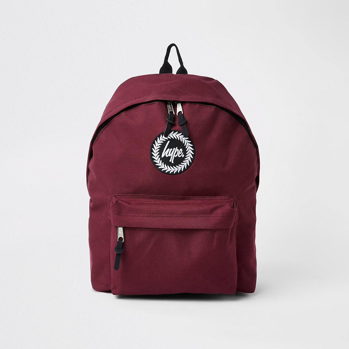 Hype burgundy embroidery backpack - Bags - Sale - men 69e0c21cb2ee4