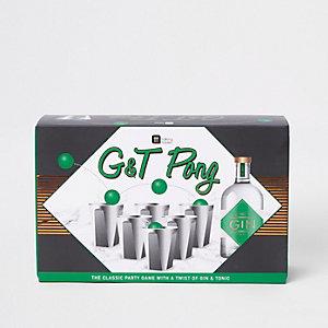 Gin & Tonic pong game
