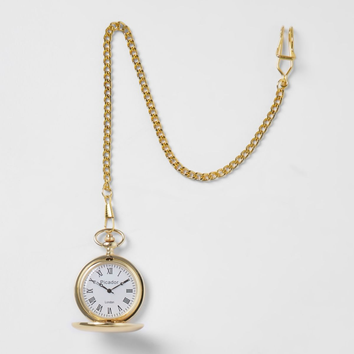 dual pin pocket s necklace vintage brass time style chain zone watch watches women