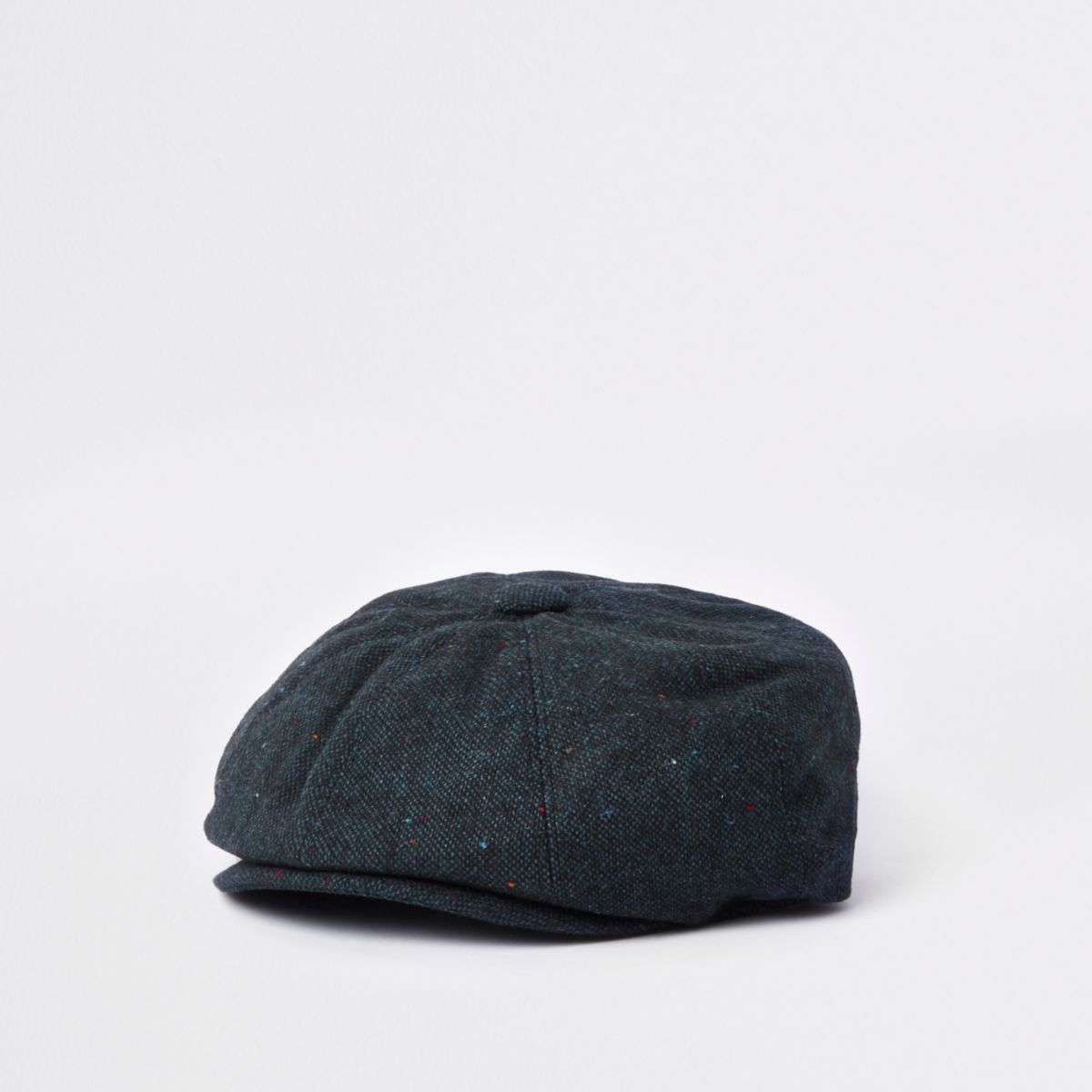 Navy baker boy hat