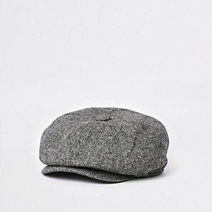 Casquette gavroche grise