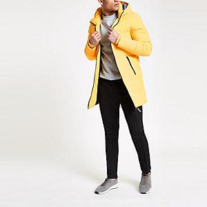 Only & Sons - Gele lange gewatteerde jas