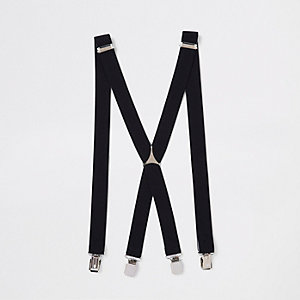 Black belt braces