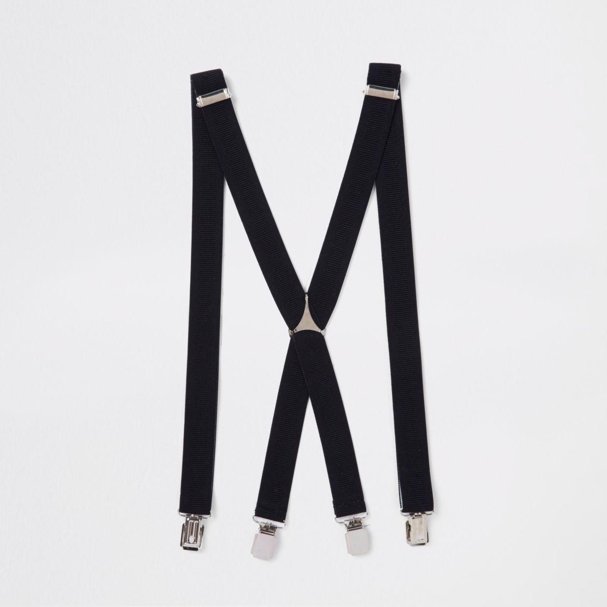 Black belt suspenders
