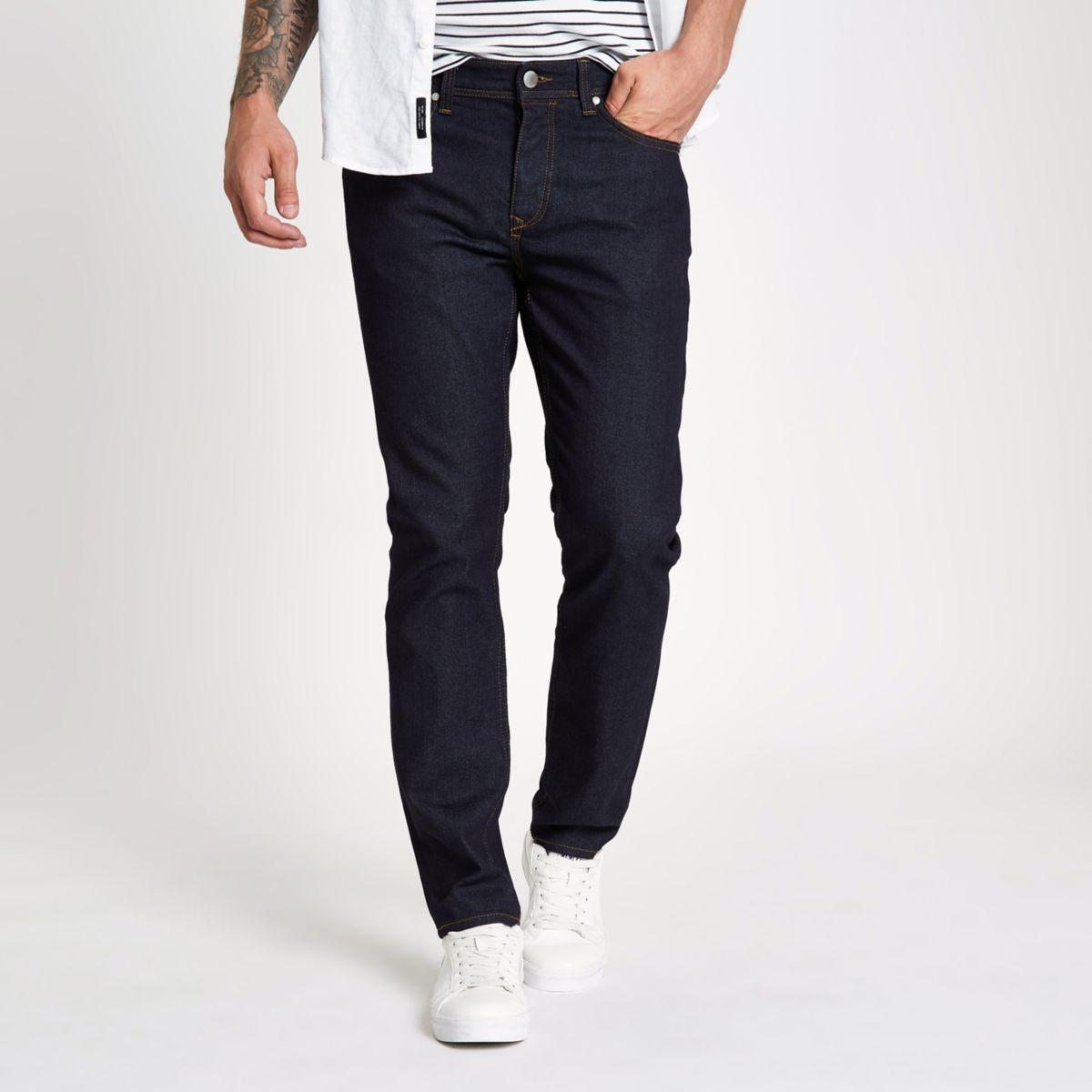 Dark blue rinse Dylan slim fit jeans