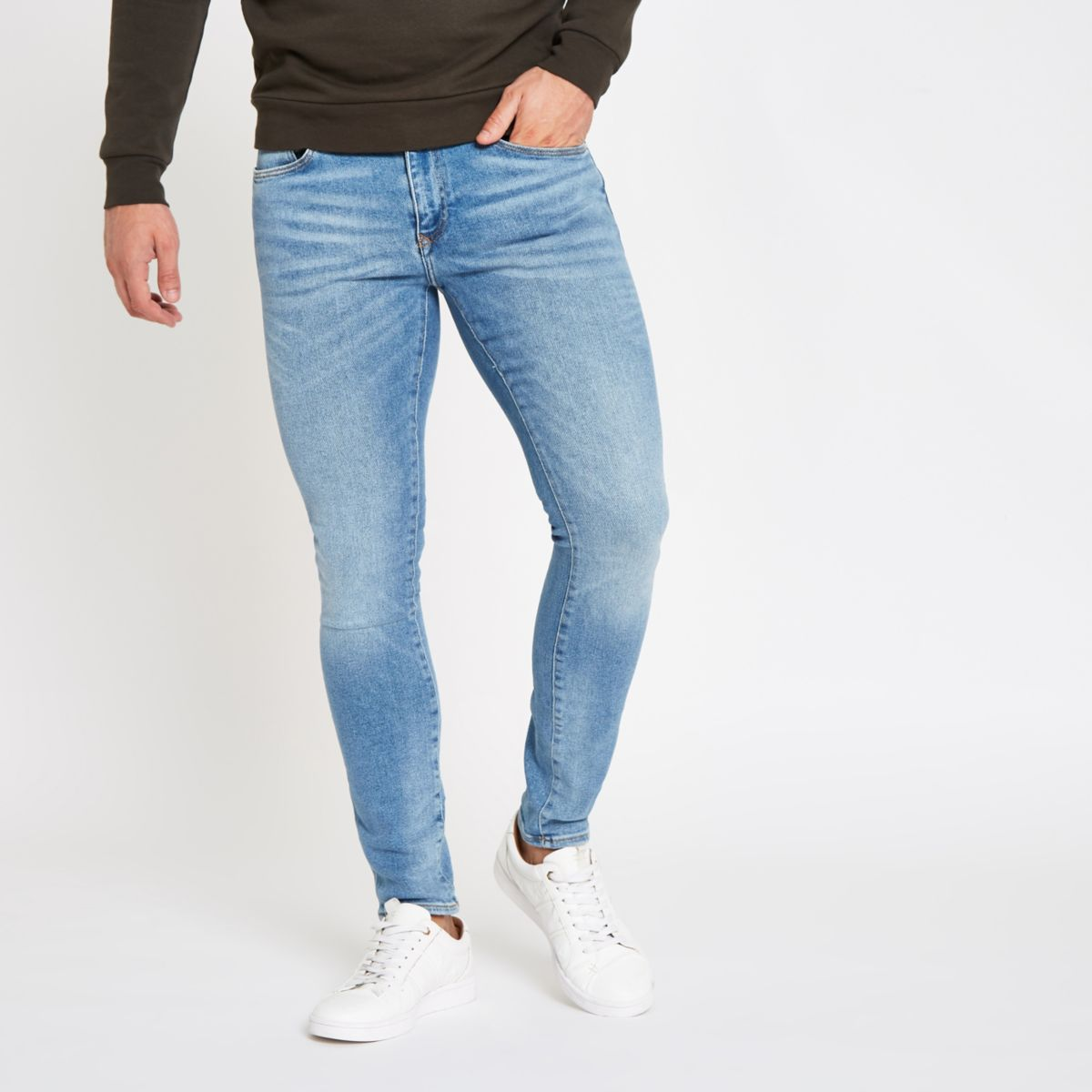 Light blue Danny super skinny fit jeans