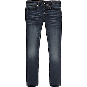 Danny – Dunkelblaue Skinny Jeans