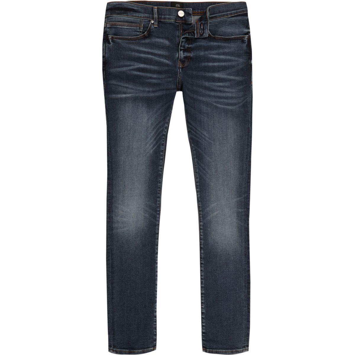 Dark blue super skinny Danny jeans