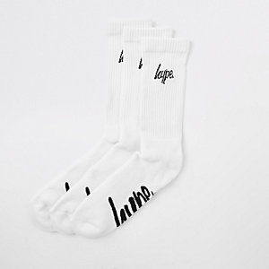 Hype white socks multipack