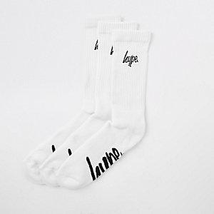 Hype – Lot de chaussettes blanches