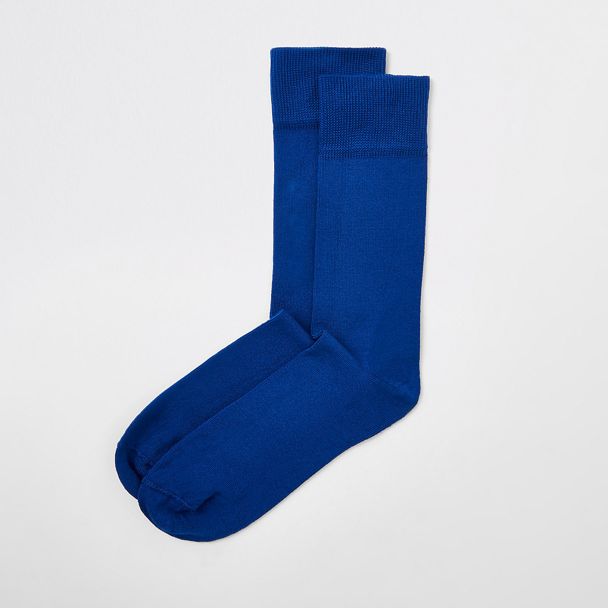 Blue smart socks