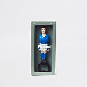 Blauer Fußball-Flaschenöffner