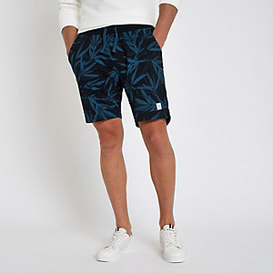Outlet Good Selling River Island Mens Only and Sons Navy floral swim shorts Only & Sons Visit Outlet Get Authentic Footlocker Pictures Cheap Online paazoj64x