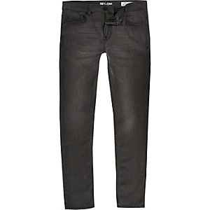Only & Sons – Graue Skinny Jeans