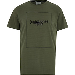 Jack & Jones Core green '1990' T-shirt