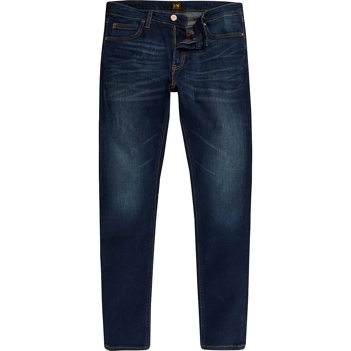 Lee blue Malone skinny fit jeans