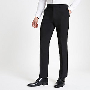 Zwarte slim-fit pantalon