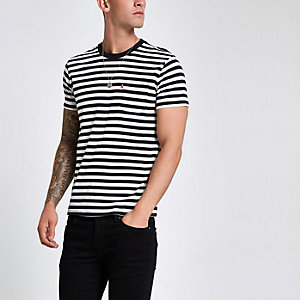 Levi's black stripe pocket T-shirt