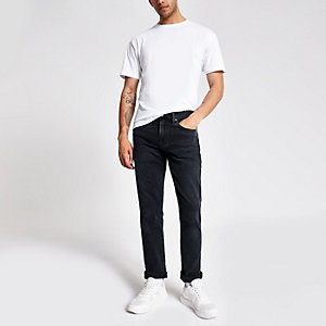Levi's 511 - Zwarte washed slim-fit jeans