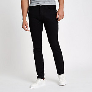 Levi's – Schwarze Skinny Jeans 501