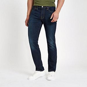 Levi's – Dunkelblaue Slim Fit Jeans 511