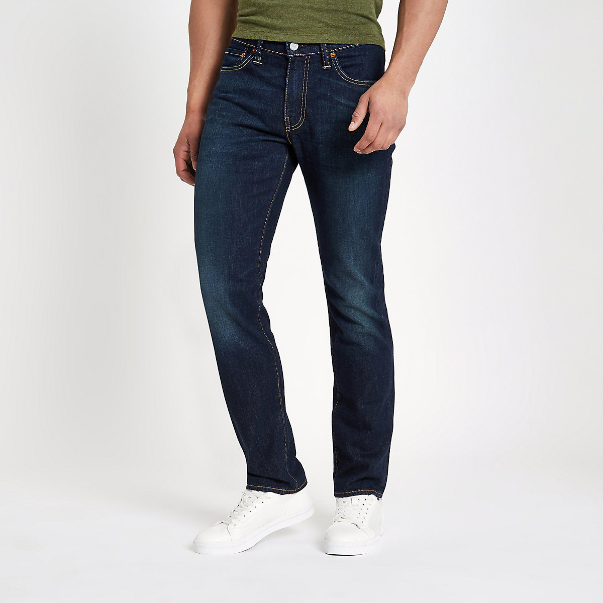 Levi's 511 - Donkerblauwe slim-fit jeans