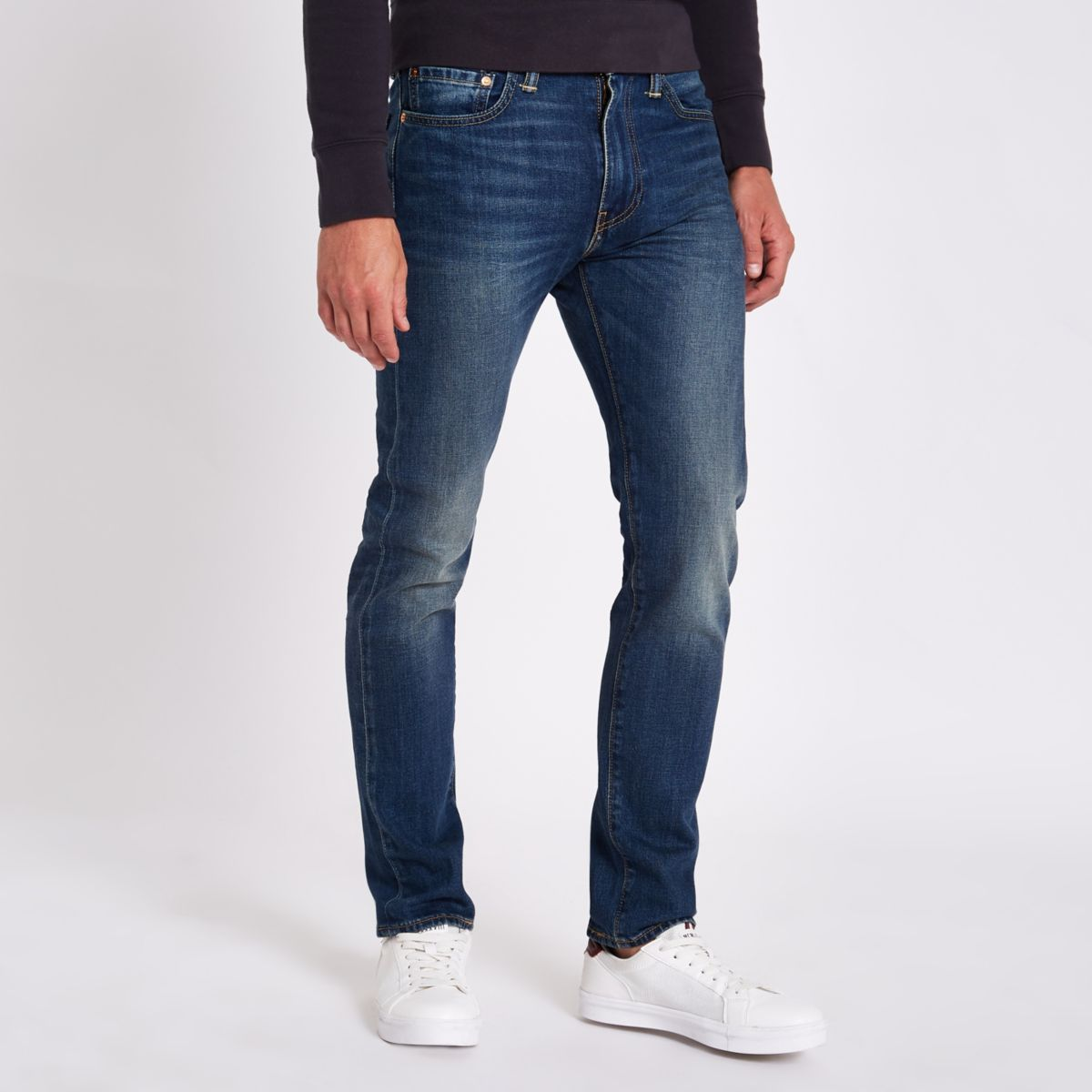 Levi's dark blue 510 skinny fit jeans