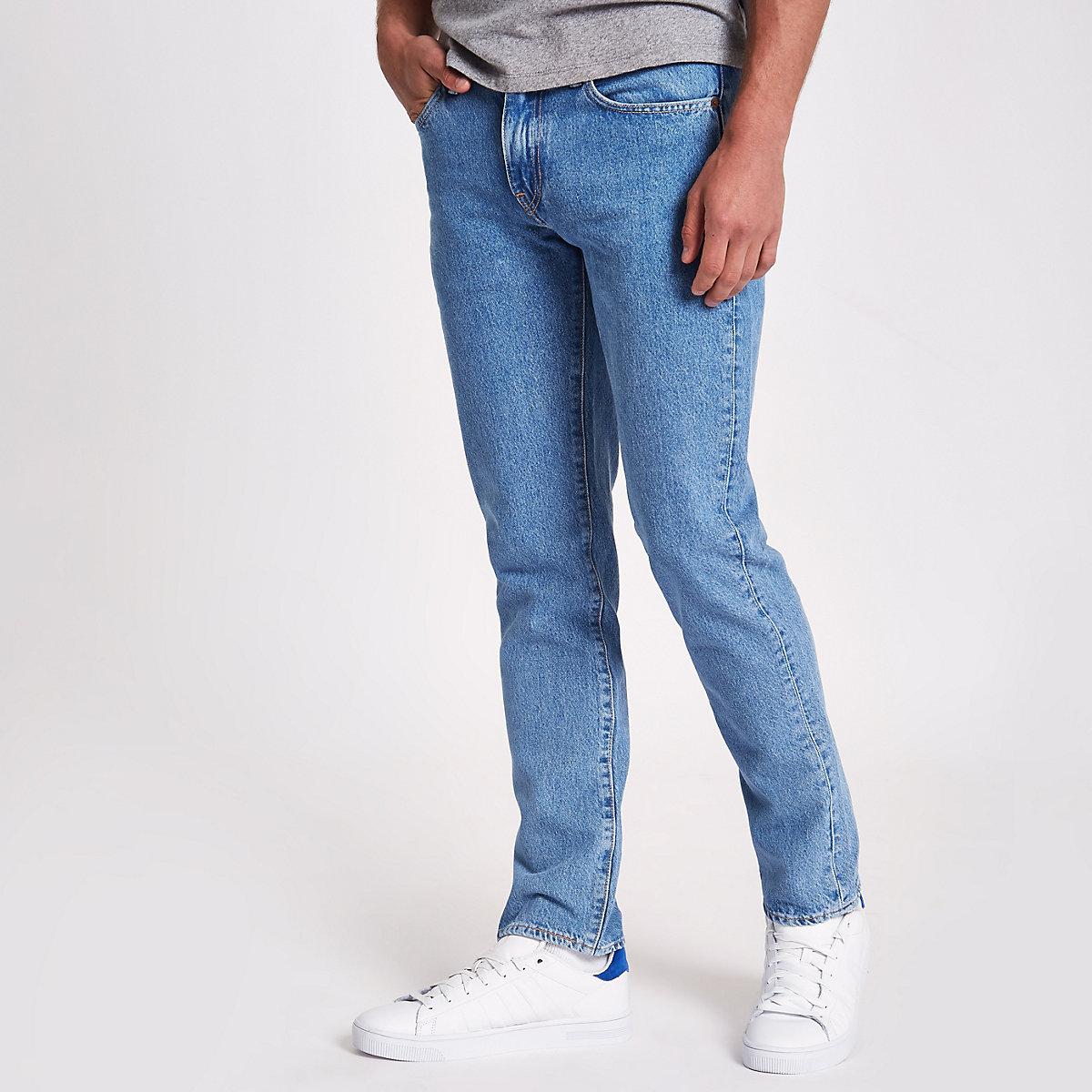 Levi s – Hellblaue Slim Fit Jeans 511 - Slim Fit Jeans - Jeans - Herren 807f3fa39d